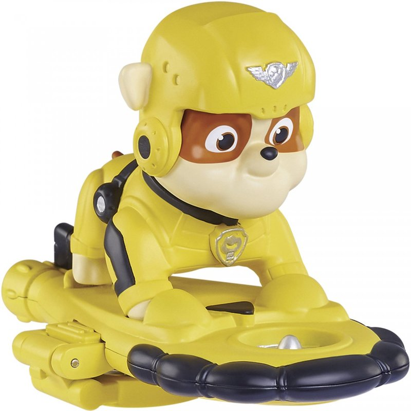 Set de joaca Air Rescue Rubble cu insigna Patrula Catelusilor